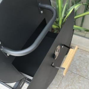 Newest beer grill Safe continuous increase charcoal with smoke