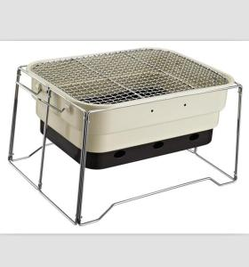 With carry bag portable bbq grill