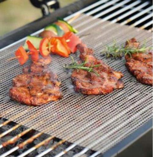 Non Stick Grilling Mats BBQ Mesh Churrasco Roaster Cooking Tools
