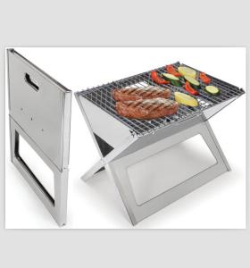stainless steel portable bbq grill