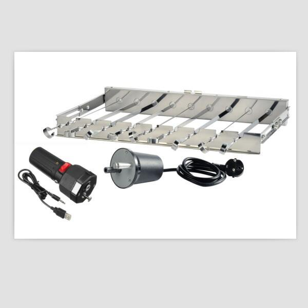 with motor automatic equipment bbq grill