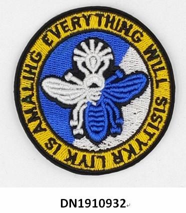 Round badge series