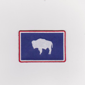 Animal cow embroidery patch
