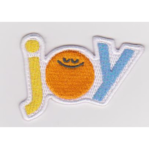 Custom lovely 100% full embroidery DIY embroidery patch badge small embroidery piece