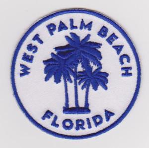 Custom landscape tree embroidery patch diy design embroidery patch souvenir embroidery
