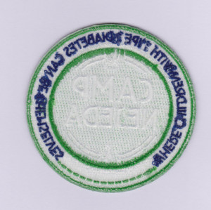 Custom embroidery patch school badge