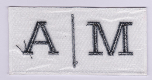 High quality custom letters 100% embroidery patch diy design embroidery patch / Garment Patch