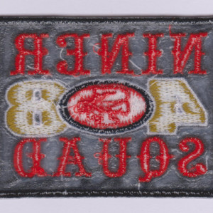Customized DIY letters SF48 team 9 embroidery patch design embroidery patch / Garment Patch