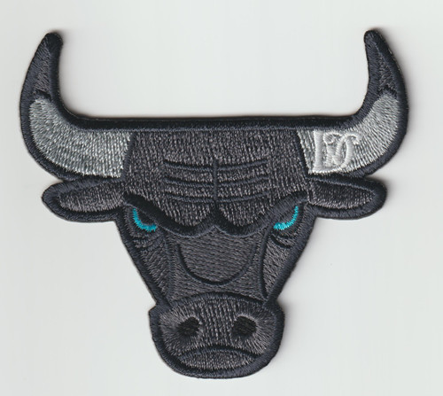 Embroidered Logo Patch for animal clothing custom cow's head clothing patch