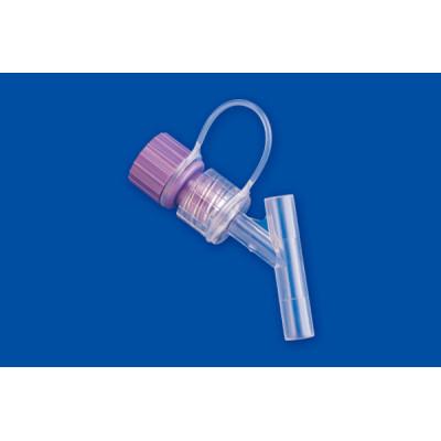 Enfit Y connector with cap