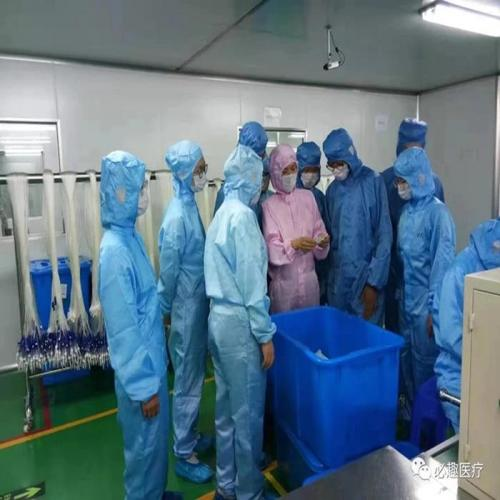 Donghua University teachers and students visit BQ+Medical.
