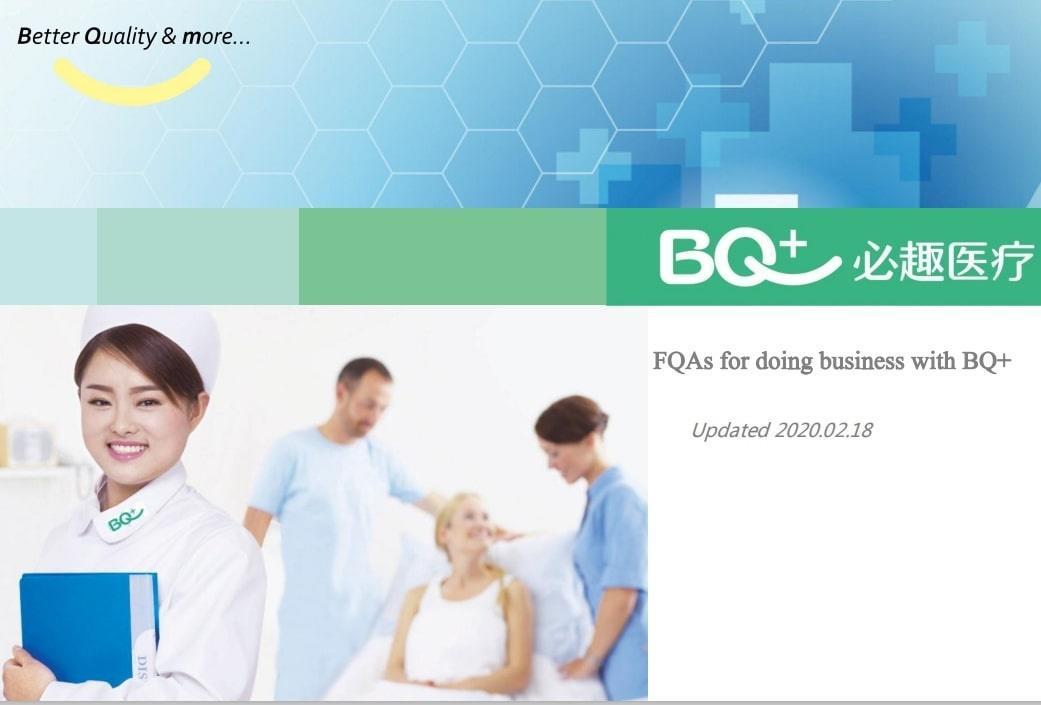 BQ + Medical Customer FQA
