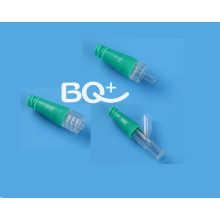 Clinical advantages of needleless connectors