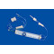 PVC or free-PVC vented Burette Chamber with filter for children iv set use