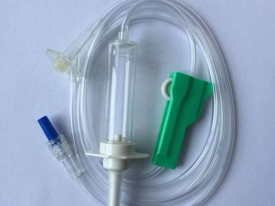 Air flow stop infusion set | IV set | DEHP FREE Infusion Set | Medical Disposable Use Infusion Set | Customized Medical Infusion Set | 510K