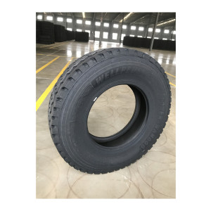 three line pattern 315/80R22.5 radial truck tyre