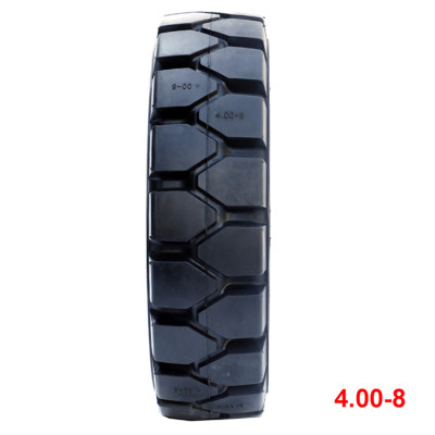 bias otr tire solid tires 4.00-8 for forklift