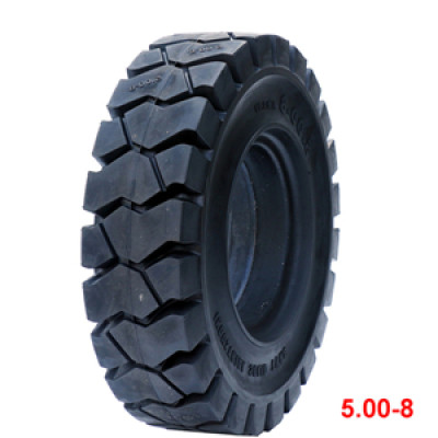 Chinese brand solid tire 5.00-8 otr tyres for forklift