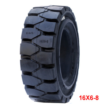 solid tires 16*6-8 otr tyres for the forklift