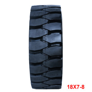 solid tires 18*7-8 otr tyres for the forklift