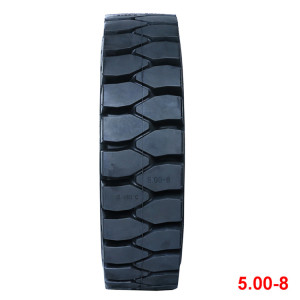 China bias tyre solid tires 5.00-8 otr tyres for the forklift