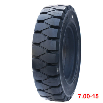 China brand of MULTIPLUS 7.00-15 solid tire otr tyres