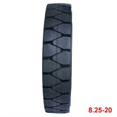 tyre price list 8.25-20 solid tire for forklift tires