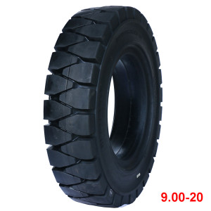 Best quality and cheaper price 9.00-20 solid tire for forklift tires
