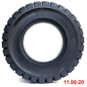 China tire brands  11.00-20 solid tire for forklift tires