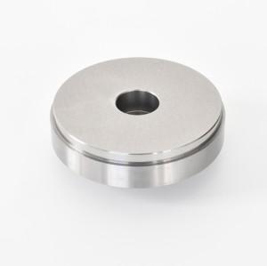 Lavorazione di tornitura di lavorazione CNC di precisione del materiale NAK55