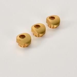 ottone Parti di lavorazione CNC di precisione personalizzate