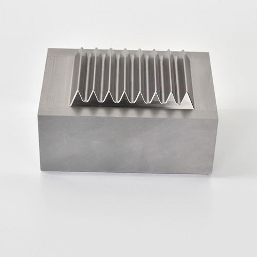 DH2F material processing of aluminum die - casting precision machined parts
