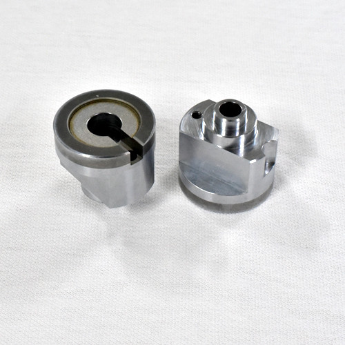 precision machined parts where iron and superhard materials are welded together