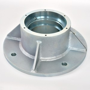 Precision machining of SS400 metal after welding Surface treatment