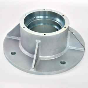 焊接后SS400金属的精密加工表面处理