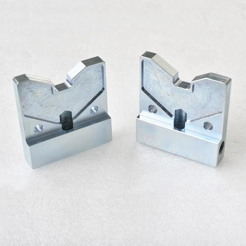 Surface treatment of blue white zinc custom precision machining