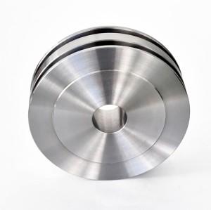S45C / SCM435 материал большой токарный станок с ЧПУ для точной обработки деталей из композитных материалов, диаметр φ500 мм