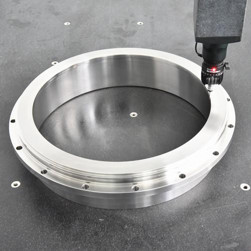 S45C / SCM435 materiale grande tornitura CNC pezzi di lavorazione di precisione della macchina composita, diametro di φ500mm