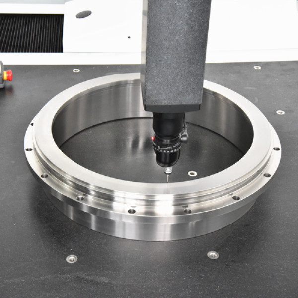 S45C / SCM435 Material große CNC-Drehverbundmaschine Präzisionsbearbeitungsteile, Durchmesser φ500mm