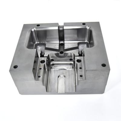 CNC precision machining aluminum die - casting die core parts mold parts