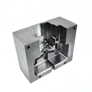 CNC precision machining aluminum die - casting die core parts mold parts