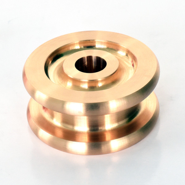 Precision machining of tin-bronze material parts metal fabrication factory
