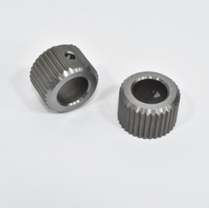 precision machining parts of gears