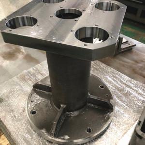 Lavorazione del materiale SS400 di parti di lavorazione di precisione di grandi parti di saldatura