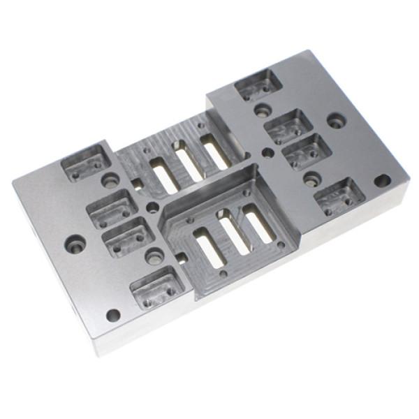 S45C / NAK55 / PX5 bahan CNC pembubutan dan penggilingan bagian mesin presisi mesin majemuk