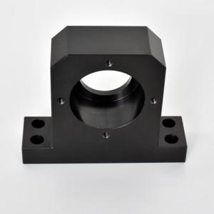 精密零件加工后的黑色染色表面处理