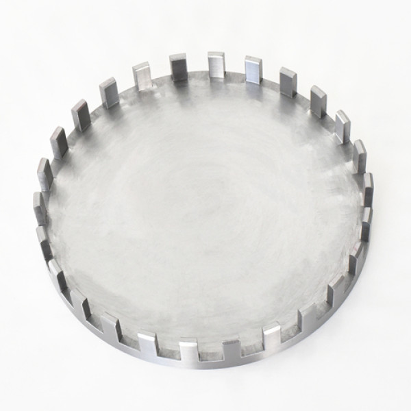 S45C材料数控铣削加工