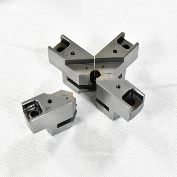 精密加工零件焊接后的SKD11材料和超硬材料
