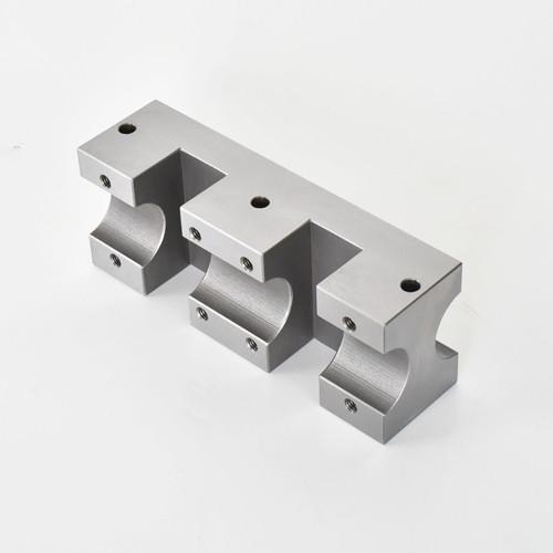 S45C / NAK55 / PX5 materiale CNC tornitura e fresatura di pezzi meccanici di precisione per macchine composte