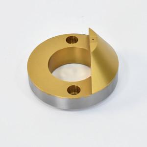 SCM415H材料精密CNC加工氮化钛处理